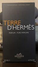 Hermes Terre D'Hermes Pure Parfum Spray 200ml Men's Perfume, Used 90- 92% Remain