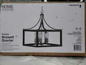 Home Decorators Collection Boswell Quarter Collection 5-Light Pendant