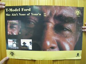 T-Model Ford Poster She Ain't None Of Your'n Face Shot T Model
