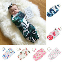 Newborn Infant Baby Blanket Swaddle Print Sleeping Bag Sleep Sack Stroller Wrap