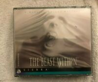 Gabriel Knight THE BEAST WITHIN by SIERRA PC Game Adventure CD-ROM NEW SEALED