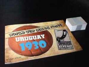 No Panini WORLD CUP URUGUAY 30 - EMPTY ALBUM + COMPLETE STICKER SET - ORIGINAL