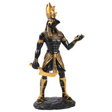 "12"" H Egyptian Horus Statue Figurine Ra Falcon Bird Sun God w Ankh"