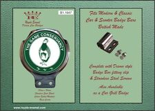 Royale Car LAND RANGE ROVER Bar Badge - THE GAME CONSERVANCY - B1.1647