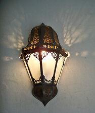 applique murale Marocaine fer forgé b lampe lustre lanterne decoration spot 35cm