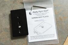 Really Right Stuff B35 plate RRS camera