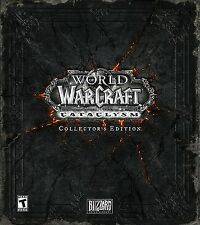 World Of Warcraft Cataclysm Collector's Edition Brand New Sealed