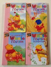 4 livres WINNIE L'OURSON Bibliothèque rose  LIVRE enfant Disney