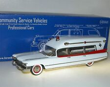 "Brooklin Models CSV.16a, 1960 Miller-Meteor Cadillac ""Guardian"" Ambulance, 1/43"