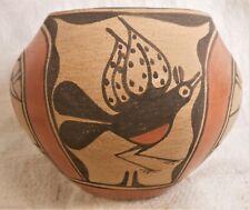 Very Good Vintage Sw Native American Zia Pueblo Pot Signed Reyes Pino