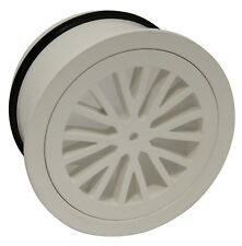 Holman Round Floor Grate 100mm DWV PVC, For Sewer, Waste & Vent Use, Grey
