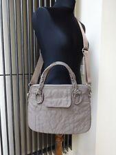 Designer Marc by Marc Jacobs Bag Grey Taupe Bag Tote Handbag Messenger Shoulder