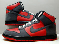 Nike Shoes - 2009 Nike Dunk High Ultraman - Red Gray Black Bred White - Size 13
