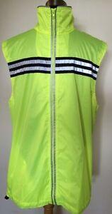 High Viz Gilet Vest Cycling Running  UK X-Small & Large