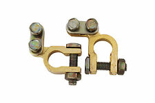 Small Post Japanese Type Brass Car Battery Positive Negative Terminals Clamps