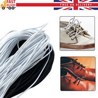 Round Elastic Cord 3mm Face Covering Sewing Crafts Band Stretch White Black DIY
