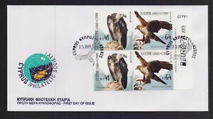 CYPRUS 2019 EUROPA CEPT SET FROM BOOKLET ON UNOFFICIAL FDC