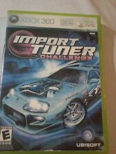 Import Tuner Challenge (Microsoft Xbox 360, 2006) Tested Fast Shipping no Manual