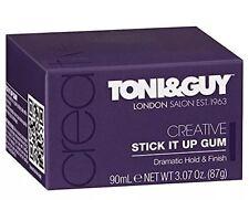 Toni & Guy Stick It Up Gum Dramatic Hard Hold & Creative Finish 90ml New Boxed