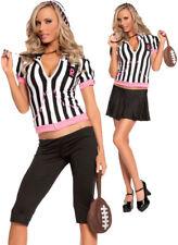 Morris Costumes Women's Sexy Referee Sweetheart Costume Black White L. MO9464LG