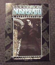 1993 CLANBOOK NOSFERATU Sourcebook SC VF 8.0 Vampire Masqurade