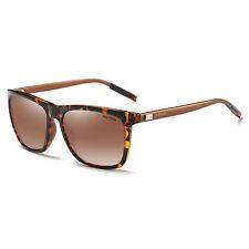 Polarizado Caballeros Retro Vintage Aluminio Gafas de sol Aviator Gafas Gafas