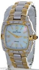 Anne Klein Women's 10/7915 Duo tone Stainless Steel Mother of Pearl Dial Watch