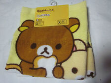 New ×2 Rilakkuma Hand Towel Cotton San-X 2017 Korilakkuma Yellow Bird Japan F/S