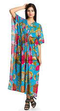 Indian Kaftan Robe Bath For Women Long Length Cotton Crossover Robe Spa Wrap