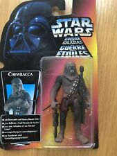 New In Box Star Wars 1995 Kenner Chewbacca Figure & Heavy Blaster Rifle