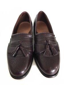ALLEN EDMONDS 'Bridgeton' Handcrafted Leather Slip On Loafer, Maroon, UK7.5 D