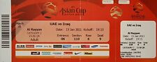 TICKET AFC Asian Cup Qatar 2011 UAE - Irak Match 16