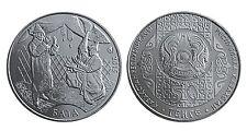 Kazakhstan / Kasachstan, 50 tenge, 2015, Bata, copper-nickel, UNC