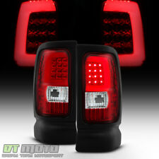 1994 2001 Dodge Ram 1500 94 02 2500 3500 Red Clear Led Tail Lights Lamps Fits 1999