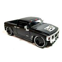 Jada Toys 2003 Hummer H3T Black Concept Truck 1:24 #90644 Die-Cast Dub City