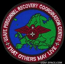 USAF Personnel Recovery Coordination Center THAT OTHERS MAY LIVE SAR PJ'S PATCH