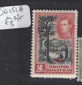 BRITISH HONDURAS (P2806B)  KGVI  2C  SG 151A  MOG