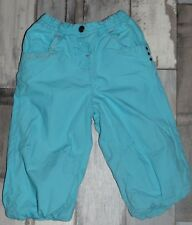 ~ Superbe Pantalon doublé turquoise ORCHESTRA fille 18 mois ~