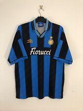 Inter Milan Home Football Shirt 1994/95 94 95 XL Extra Large