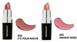Covergirl Lipstick Continuous Color Shimmer Long Lasting Wear ~ Choose Color/s