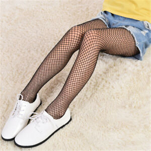 Girl Lace Fishnet Stockings Black Pantyhose Mesh Tights Jeans Net GridStockin HS