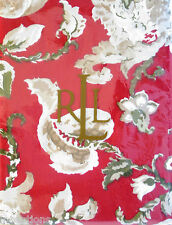 Ralph Lauren Cotton Holiday Christmas Tablecloth Hadley Floral Red 60 x 84 - NEW