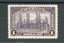 Canada KGVI 1937-38 $1 violet SG367 MNH