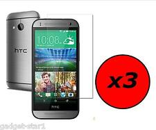 3x HQ CRYSTAL CLEAR SCREEN PROTECTOR COVER LCD FILM GUARD FOR HTC ONE MINI 2