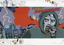 "001 MF Doom - Daniel Dumile Super Villain Hip Hop Artist 34""x24"" Poster"