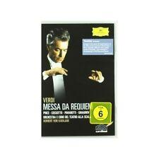 Price/Cossotto/Pavarotti/Ghiaurov/Karajan/otsm/+ - messa poiché Requiem DVD NUOVO