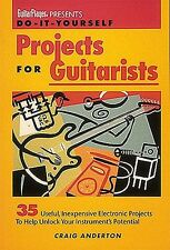 Guitar Player Do-It-Yourself Projects For Guitarists Learn to Play Music Book