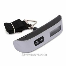 Portable 50Kg/110lb Electronic Digital Hanging Luggage Balance Weight Scale