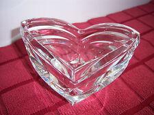 "Clear Crystal Candy Bowl Nuts Bowl Mikasa Crystal Bowl 5"" x 3 3/8""  NWOT"