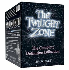 THE TWILIGHT ZONE- Complete Definitive Collection  Series Season  28 Dvd Set New
